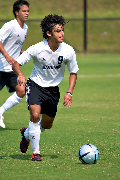 davidson college versus old dominion men's soccer ncaa sports photos