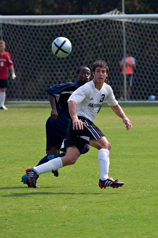 davidson college versus old dominion men's soccer ncaa sports photos