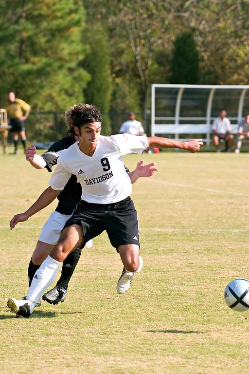 davidson college versus wofford men's soccer ncaa sports photos