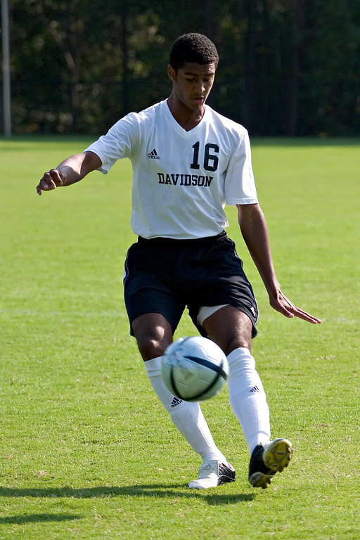 davidson college versus wofford universtion men's soccer ncaa sports photos