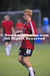 21 August 2010:  Davidson men's soccer take on NC State in exhibition play at 1994 Field in Davidson, North Carolina.