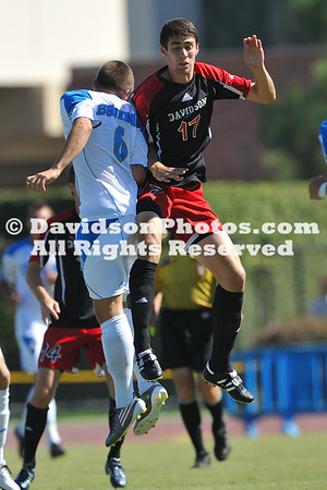12 September 2010:  Davidson men's soccer ends their California trip with a 2-0 loss against UCLA at Drake Stadium in Los Angeles, California.