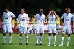 20 August 2011:  Davidson men's soccer takes on NC State in preseason action at Alumni Soccer Stadium in Davidson, North Carolina.
