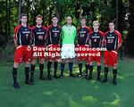 16 August 2011:  The Davidson College soccer team's posed for team shots at Alumni Soccer Stadium in Davidson, North Carolina.