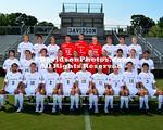 13 August 2012: Davidson men's soccer poses for team pictures at Alumni Soccer Stadium in Davidson, North Carolina.