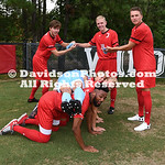 NCAA SOCCER: AUG 11 Davidson Team Picture Day