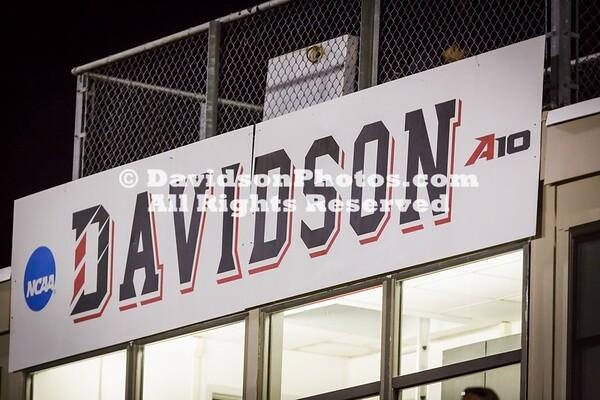 NCAA MENS SOCCER:  SEP 30 Dayton at Davidson