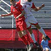 NCAA SOCCER:  SEP 03 Radford at Davidson