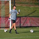 NCAA SOCCER:  Sep 06 #2 North Carolina at Davidson