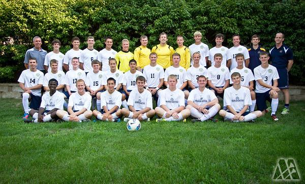 Men's Soccer Team 2012