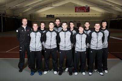 Men's Tennis Team 2015-2016.