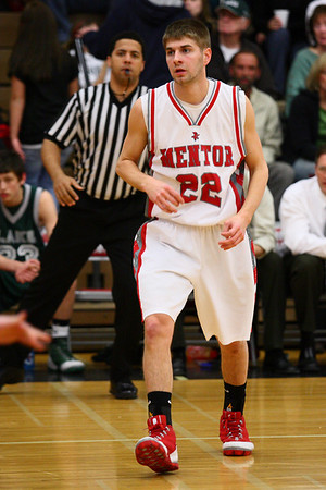Mentor Varsity Basketball vs Lake Catholic 2.7.9
