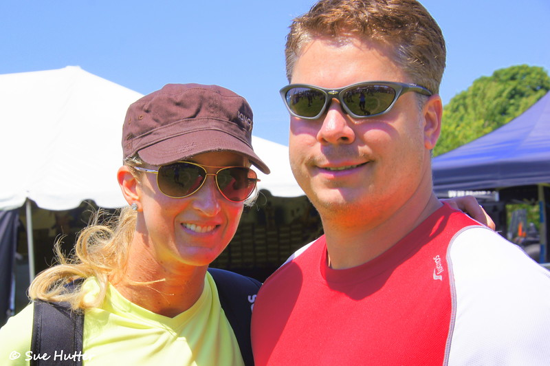 Always a smile ~ from Meredith Kessler and her husband and supporter, Aaron Kessler