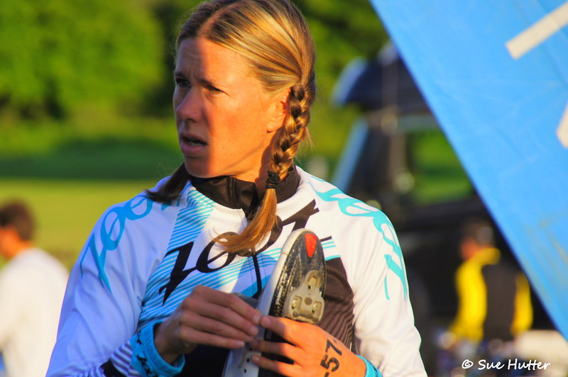 #57 ~ Charisa Wernick ~ looking at what? ~ Bike Check in ~ Rev3 Portland 2012