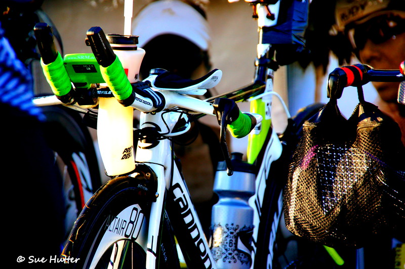 I like bikes ~ with Charisa Wernick @ Rev3 Portland Bike check in race day morning