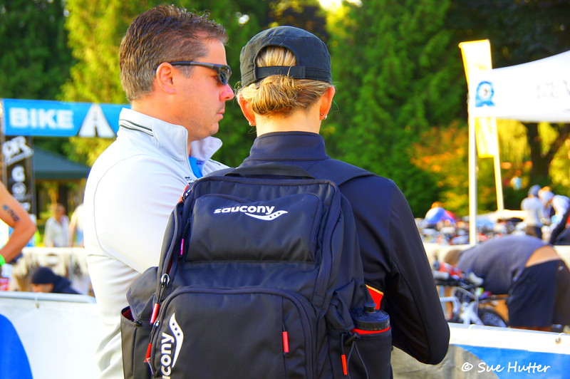 Meredith and AK, focused and ready for the day to start ~ Rev3 Portland