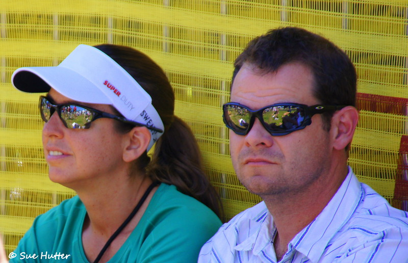 Nina and Dana ~ Two of the best people around ~ she raced, he supported ~ Rev3 Portland 2012