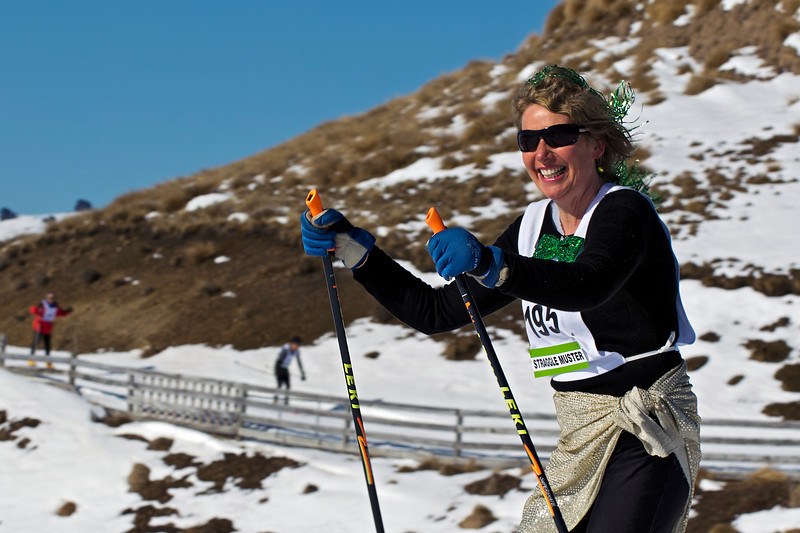 Liz in the 7K Muster<br /> August 18, 2012