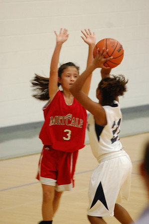 Metcalf Girls Basketball 2012