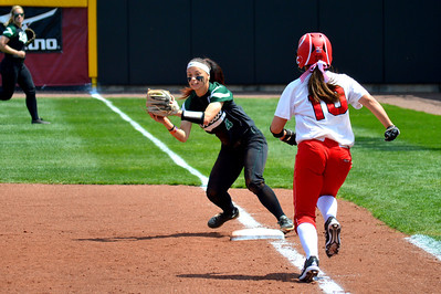 Miami Softball vs. Bobcats (OU) 2014