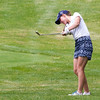 Record-Eagle/Brett A. Sommers Traverse City's Taylor Kehoe takes aim during Monday's Michigan Women's Open.
