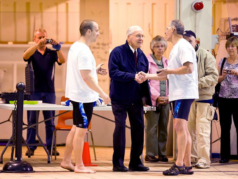 Paul Boulding giving Jaring TIimmerman Award