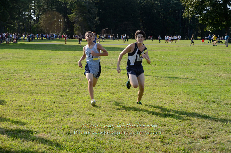Midd South XC Battle at OCP, 9/14/12.