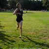 Midd South XC Battle at OCP, 9/14/12, Theo crosses the 5K finish line @18:01.