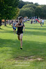 Theo Saydah at the finish line, Midd South Cross Country at Bucks Mill Park, Colts Neck, 9/19/2012