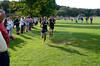 Conor Bini  at the finish line, Midd South Cross Country at Bucks Mill Park, Colts Neck, 9/19/2012