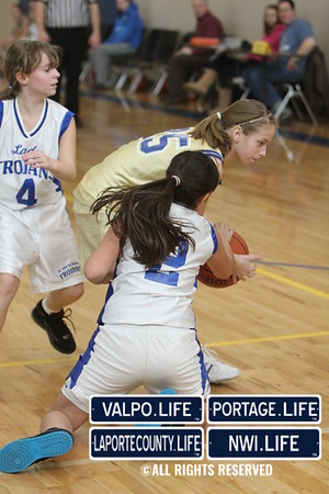 St. Paul 6th Grade Girls Basketball 2011