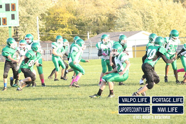 TJ 7th Grade Football Game