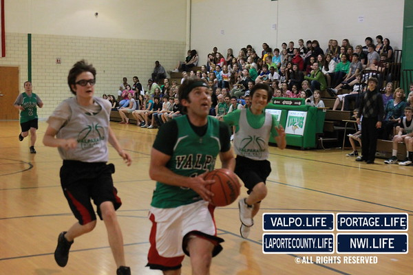 TJMS vs. Faculty Bball & Volleyball