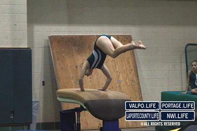Valpo Middle School Gymnastics vs Portage 2011 (5)