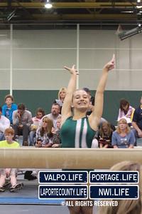 Valpo Middle School Gymnastics vs Portage 2011 (10)