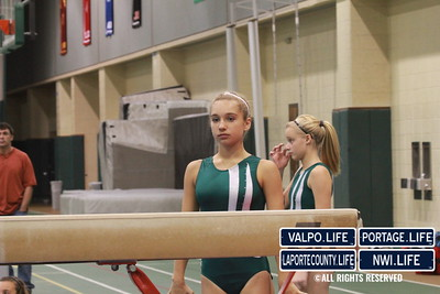 Valpo Middle School Gymnastics vs Portage 2011 (8)