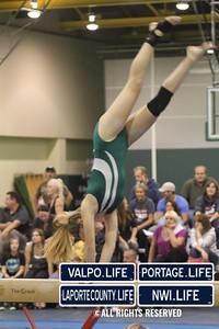 Valpo Middle School Gymnastics vs Portage 2011 (27)