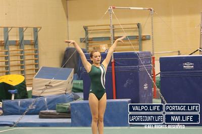 Valpo Middle School Gymnastics vs Portage 2011 (19)