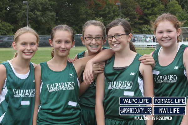 Middle School Cross Country Viking Invitational 2011 (girls)