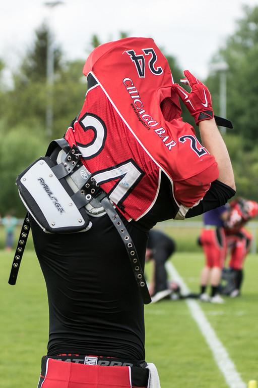 SAFV Liga B - Die Midland Bouncers verlieren gegen LUCAF 0:44