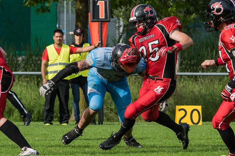SAFV 2016 - Die Midland Bouncers gewinnen gegen SFU Phénix 54:0
