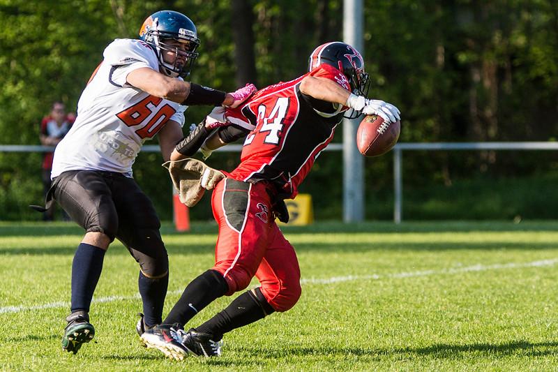 SAFV 2016 - Die Midland Bouncers verlieren gegen die St. Gallen Bears 0:36