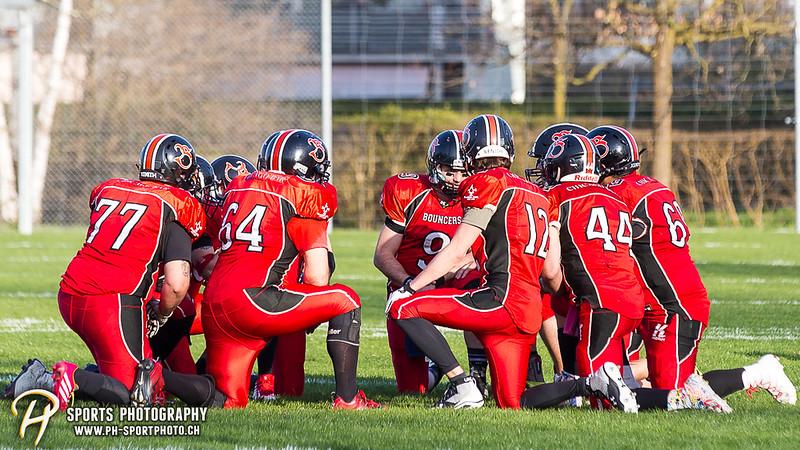 American Football - SAFV - Liga C: Midland Bouncers - Neuchâtel Knights - 34:13