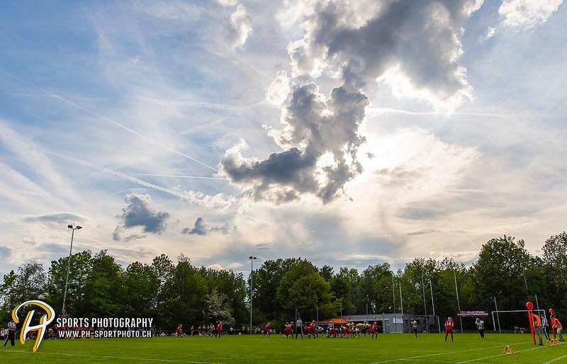 American Football - SAFV - Liga C: Midland Bouncers - Schaffhausen Sharks - 00:25