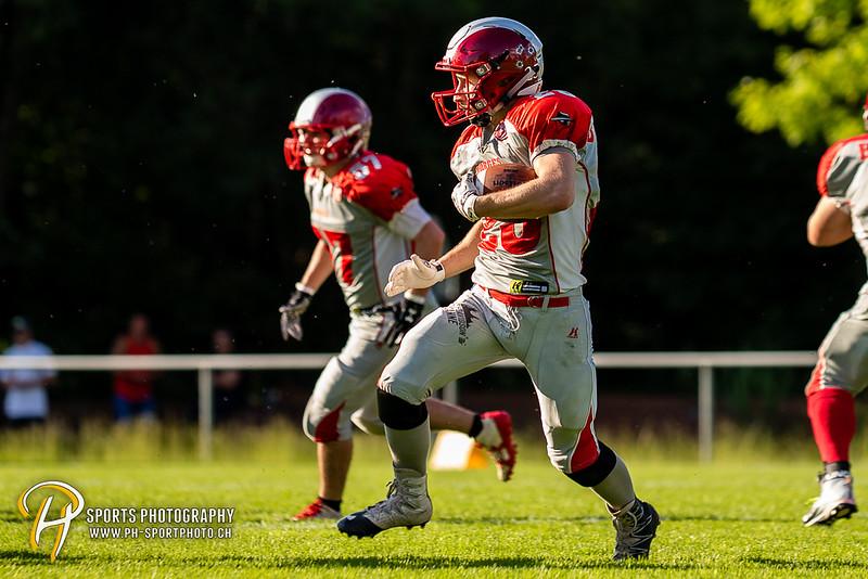 American Football - SAFV - Liga C:: Midland Bouncers - Morges Bandits - 12:19