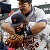 APTOPIX Tigers Twins Baseball