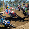 Cooper Webb, Shane McElrath and Dean Wilson at Milestone Invitational - 14 Dec 2013