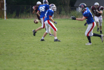 Josh is #73, the Millis High Freshmen Football team beats Ashland High Freshmen...