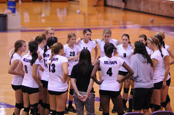 Millsaps Volleyball 2010