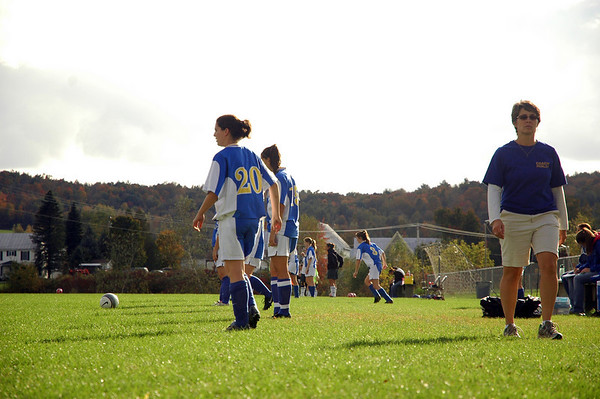 Milton  Gilrs Soccer vs. Enosburg